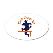 GET OVER IT Wall Decal