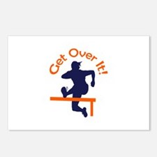 GET OVER IT Postcards (Package of 8)