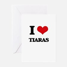 I love Tiaras Greeting Cards