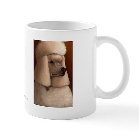 Poofy Poodle Mug