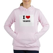 I love Tights Women's Hooded Sweatshirt