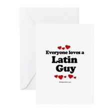 Everyone loves a Latin guy Greeting Cards (Package