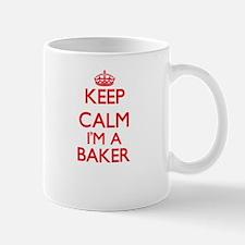 Keep calm I'm a Baker Mugs