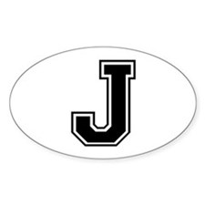 J-var black Decal