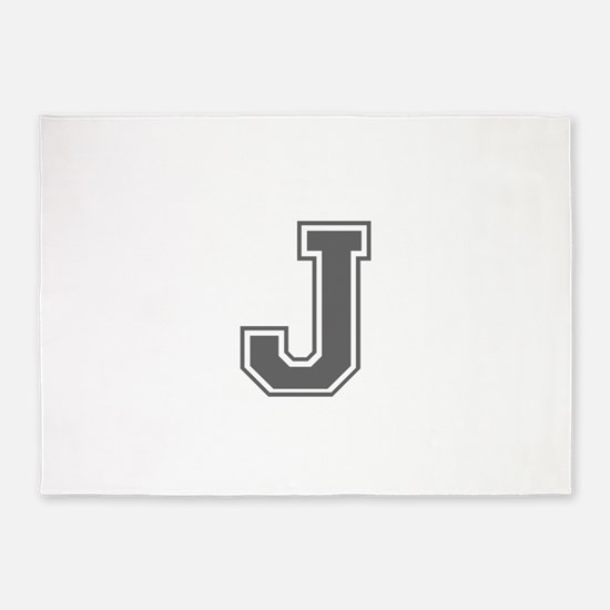 J-var gray 5'x7'Area Rug