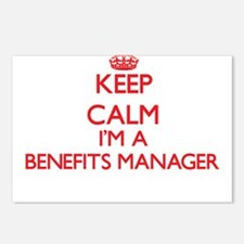 Keep calm I'm a Benefits Postcards (Package of 8)