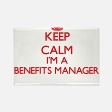 Keep calm I'm a Benefits Manager Magnets