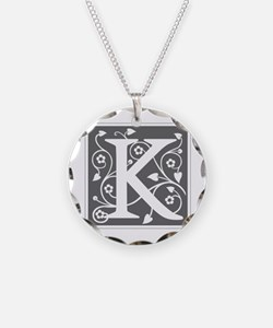 K-ana gray Necklace