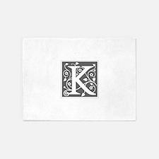 K-ana gray 5'x7'Area Rug