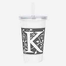 K-ana gray Acrylic Double-wall Tumbler