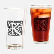 K-ana gray Drinking Glass