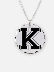 K-var black Necklace