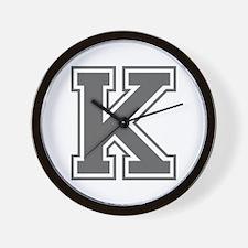 K-var gray Wall Clock