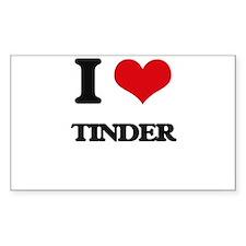 I love Tinder Decal
