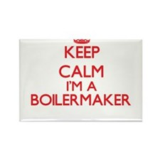 Keep calm I'm a Boilermaker Magnets