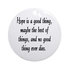 HOPE... Ornament (Round)