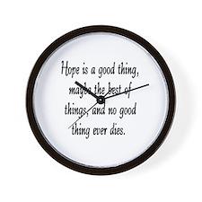 HOPE... Wall Clock