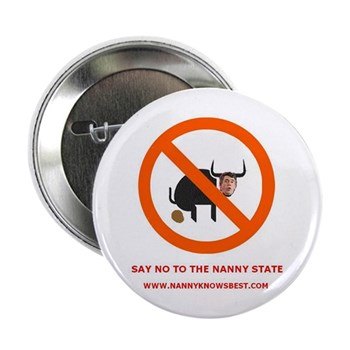 """Nanny Knows Best 2.25"""" Button (100 pack)"""