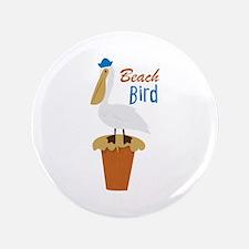 "Beach Bird 3.5"" Button"