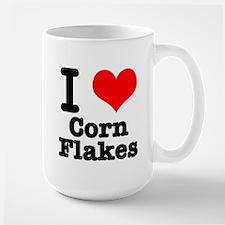 I Heart (Love) Corn Flakes Mug