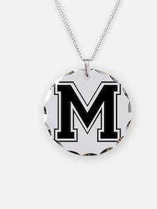 M-var black Necklace