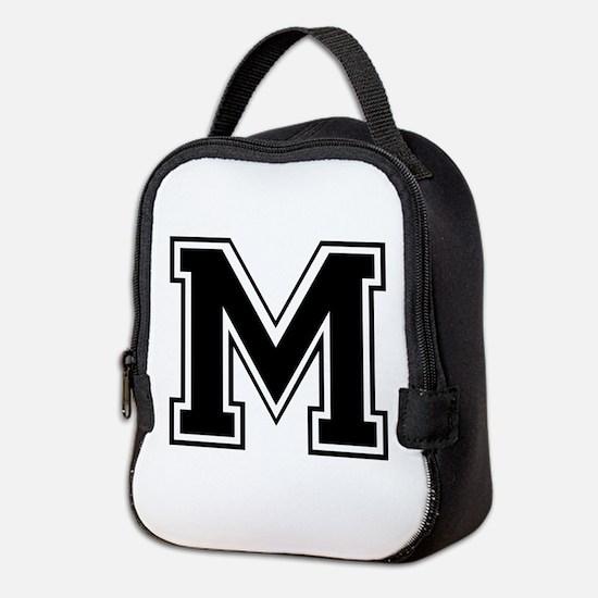 M-var black Neoprene Lunch Bag