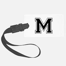 M-var black Luggage Tag