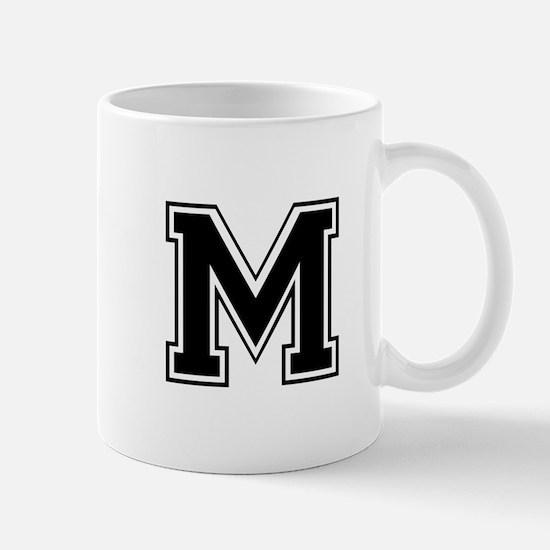 M-var black Mugs