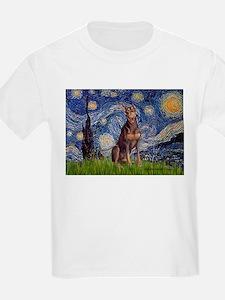 Starry / Red Doberman T-Shirt