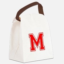 M-var red Canvas Lunch Bag