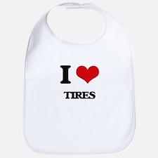 I Love Tires Bib