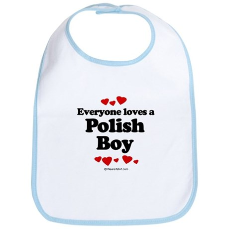 Everyone loves a Polish boy Bib