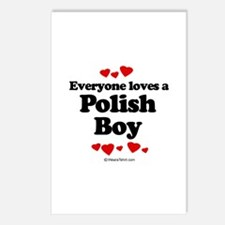 Everyone loves a Polish boy Postcards (Package of
