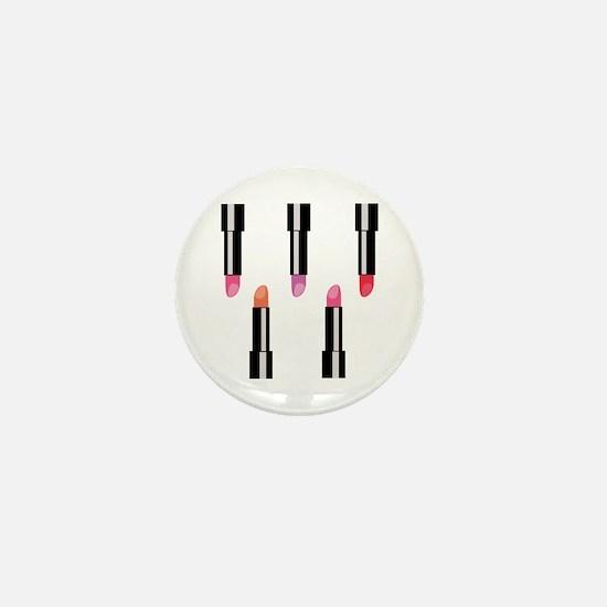 Lipsticks Mini Button (10 pack)