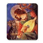 Mandolin Angel & Dobie Mousepad