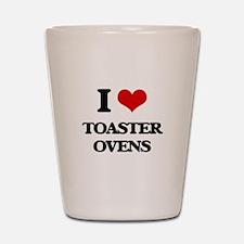 I love Toaster Ovens Shot Glass