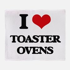 I love Toaster Ovens Throw Blanket