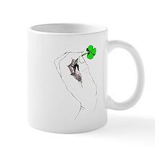 Shamrock In Hand Mugs