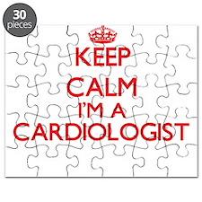 Keep calm I'm a Cardiologist Puzzle