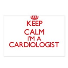 Keep calm I'm a Cardiolog Postcards (Package of 8)