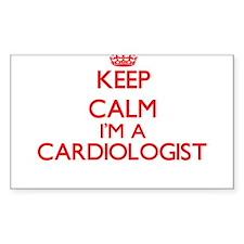 Keep calm I'm a Cardiologist Bumper Stickers