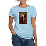 Lincoln's Red Doberman Women's Light T-Shirt