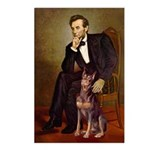 Lincoln's Red Doberman Postcards (Package of 8)