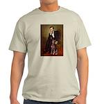 Lincoln's Red Doberman Light T-Shirt