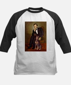 Lincoln's Red Doberman Tee