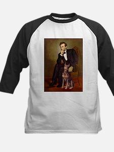 Lincoln's Red Doberman Tee