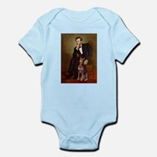 Lincoln's Red Doberman Infant Bodysuit