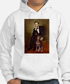 Lincoln's Red Doberman Jumper Hoody