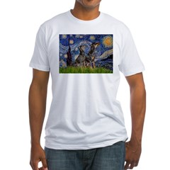Starry Night / 2 Dobies Shirt