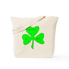 Happy St. Pats Shamrock Tote Bag